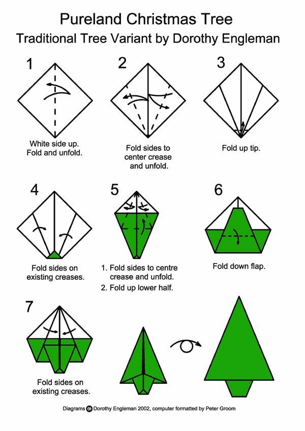 Origami Xmas Tree - Origami